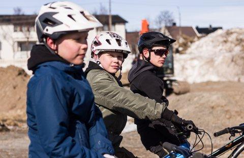 BLIR TATT PÅ ALVOR: 14-åringene Morgan Herstrøm, Markus Herstrøm og Adrian Kristoffer Dahl er glade for å bli tatt på alvor av de voksne når de sier i fra.