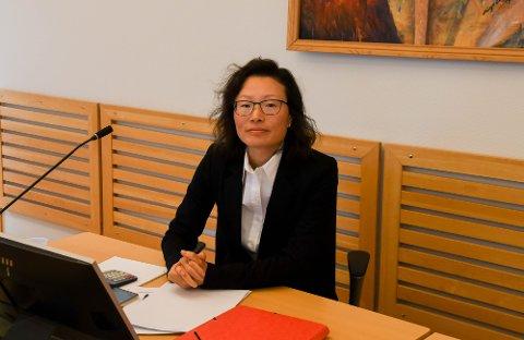 I RETTEN: Advokat Anne Beldo møtte i Vestre Finnmark tingrett i Alta som forsvarer for bedriftseieren i 30-årene.