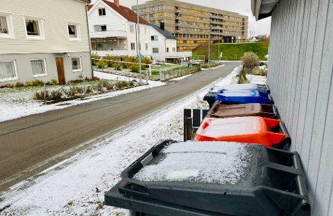 Harstad kommune har ordninger på plass som hjelper eldre og folk med bevegelseshemninger å dra ut søppeldunkene.