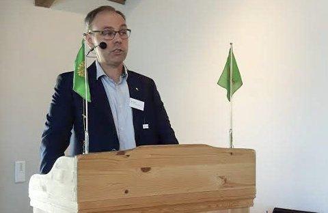 Leder bondelaget: Sigurd Enger fra Moe er gjenvalgt som leder i Akershus Bondelag.