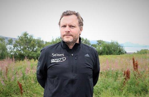 MÅ PRIORITERE: Leder i Alstahaug Venstre, John André Selnes, belager seg på tøffe budsjettforhandlinger.