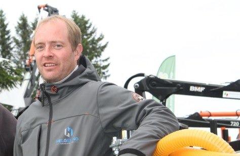 SUKSESS: Espen Hestvik Johansen driver Helgeland Maskinteknikk AS og har kunder fra helt nord til helt sør.