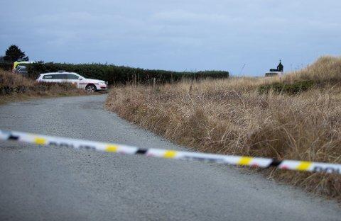 Regestranden: Mannen i 40-årene ble funnet død av turgåere på Regestranden rundt klokka 16.00 mandag.