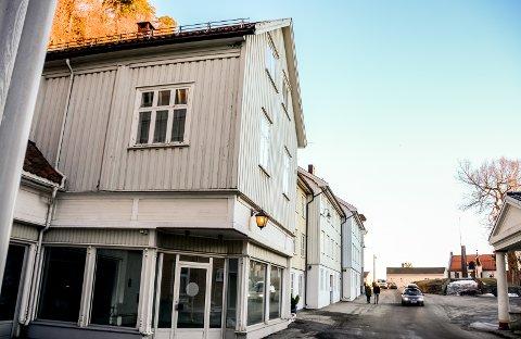 Nytt: I disse lokalene i Kirkegata 12 skal det etableres et kultursenter.