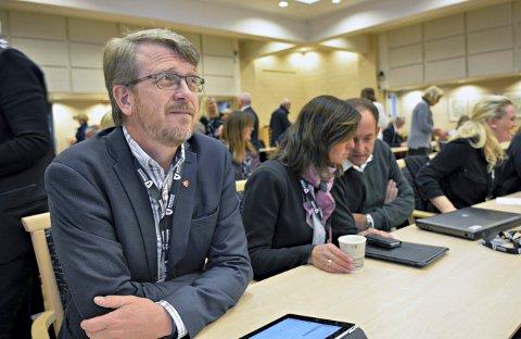 SJEFEN: Dag Lislien er ordfører i Rollag og representerer Senterpartiet.