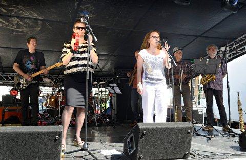 LOKALE MUSIKERE: Bandet Funked up spilte i Festivalgata i fjor og skal gjøre det i år også. Fredag kveld inntar de scenen.