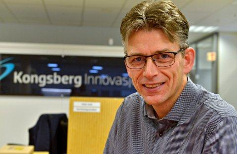 FORNØYD: Svein-Olav Torø i Kongsberg Innovasjon gleder seg over at Kyoto Group blir børsnotert.
