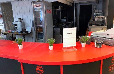 STENGT FOR GODT: Spiseriet Kongsberg AS ble tirsdag slått konkurs i Kongsberg og Eiker tingrett. Senterleder Truls Klippen sier at en ny kafévirksomhet vil ta over.