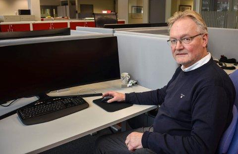 BUDSJETTSAK: Ragnar Slaastad Studsrød er ferdig i Kongsberg kommunale eiendom. Hans sluttvederlag på nær 1,3 millioner kroner går ut over et stramt budsjett i det kommunale selskapet.