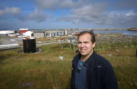 UTFORDRENDE: Tore Johansen er medeier og daglig leder i Røst Sjømat AS som fikk et vanskelig år i 2020.