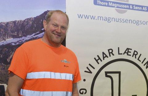 Ørjan Magnussen i Thore Magnussen & Sønn.