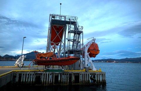 Lofoten maritime sikkerhetssenter på Gravdal.