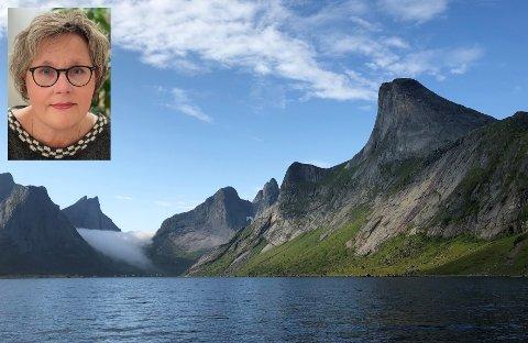 Anne M. Ernstsen er leder i Kjerkfjord grendelag.