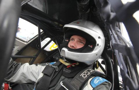 DISKET: Sivert Svardal så lenge ut til å ha vunnet for andre gang på Momarken søndag ettermiddag, men ble etter en bilsjekk diskvalifisert.