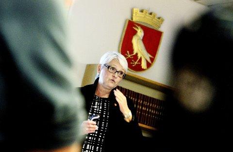 Korrigerer: Rådmann i Moss, Bente Hedum, ber Moss Avis om å unngå å blande kortene.