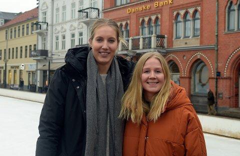 SAMMEN IGJEN: Åtte år etter at de spilte sammen i Bækkelaget, er Kristine Breistøl og Rikke Marie Granlund glade for å spille sammen i Danmark.
