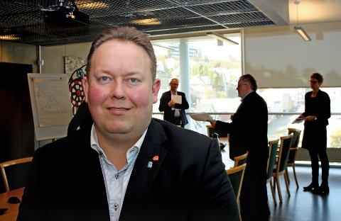 SPINDOCTOR: Jarle Heitmann (bildet) ble kalt spindoctor i tirsdagens formannskapsmøte.