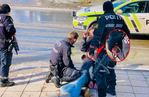 5. april ble mannen pågrepet i Tromsø sentrum.