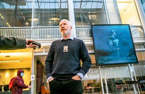 KLAR BESKJED: Trond Brattland ønsker at tromsøværinger som har vært på reise - også innenlands - tester seg.