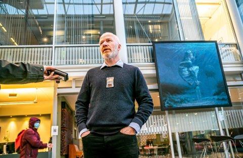 FÅR VAKSINE: Smittevernoverlege Trond Brattland lover vaksiner til dem som har tilhold i Tromsø, men som ikke har folkeregistrert adresse her.