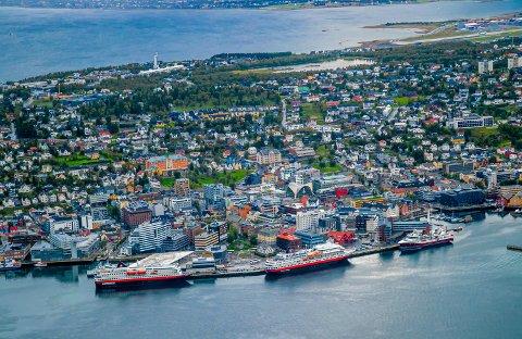 VALG: Her er oversikten over bydelenes stemmer i Tromsø.