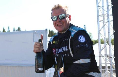 – Vi er kjempefornøyde. Dette var det beste vi kunne oppnå på denne banen, med den farta Kevin Hansen hadde på bilen sin i helga, mente Linnerud etter det som var to nesten perfekte dager i Trøndelag.