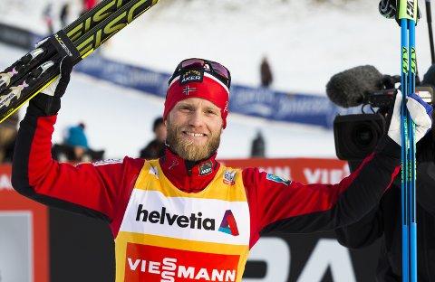 Seieren i Davos 13. desember 2014 er den ene av to verdenscupseire Sundby fratas