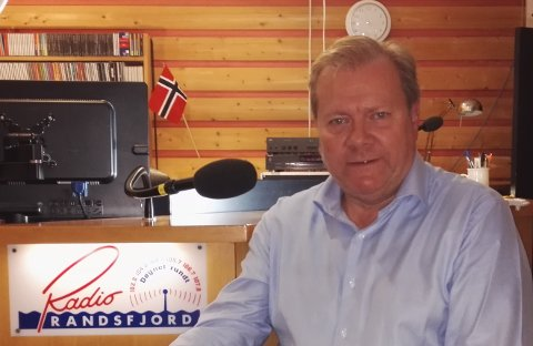 KLAGET PÅ AVGJØRELSEN: Redaktør Anders Taaje i Radio Randsfjord klaget på avgjørelsen til Lotteritisynet. Nå har Lotterinemnda behandlet klagen.
