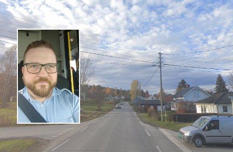 FORTVILER: Trond Egil Aarflot havnet i en nestenulykke mandag kveld.
