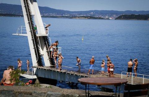 """Ingierstrand har """"utmerket"""" badevannskvalitet ifølge bymiljøetatens analyser."""