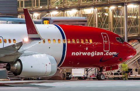 MÅTTE SNU: Flyet måtte tilbake til gaten da feilen ble oppdaget. - Vi ser alvorlig på dette, sier Norwegian. FOTO: HANS OLAV NYBORG