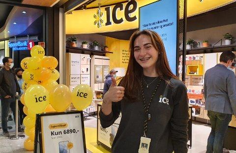 SKI: Ana Foca (20) fra Ski gleder seg å begynne å jobbe hos Ice.