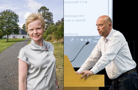 SA NEI: 39 kommunestyrerepresentanter sa ja, men Magndalena Lindtvedt og Tor Kåre Hansen Odberg sa nei, og da falt ordførerens kriseønske.
