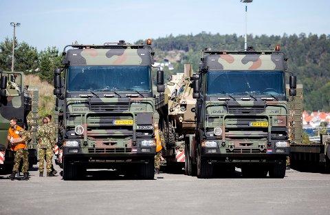 SNART INNRYKK: 40.000 soldater fra 30 nasjoner deltar i NATO-øvelsen «Trident Juncture», med stor aktivitet i Hedmark i oktober og november.