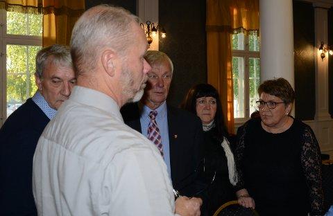 HAR SENDT BREV: Fra venstre Jan Erik Gaup, Svein Arne Konterud, Kjell Konterud, Gunn Marit Lindmoen og Hilde K. Riseng er blant dem som har skrevet under brev til fylkesmannen.