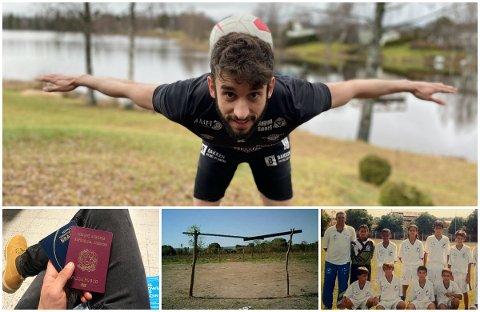 SATSET ALT: Matues Scavardoni vokste opp i fotballens hjemland, Brasil. Der spilte han på grus, gress, i akademier og på flere juniorlag. Som 20-åring innså han at han måtte ut for å oppfylle drømmene om å bli fotballproff.  Åtte år senere signerte han sin første heltidskontrakt med Elverum. I mellomtiden har Mateus blitt italiener, studert, bodd i fire land, lært seg et nytt språk og fått venner fra hele verden.