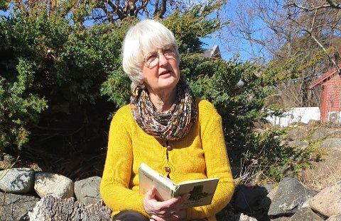 Randi Hagen Fjellberg er opptatt av verdiene Færder har, som hun tror gjør at de som velger å flytte hit, gjør det. Trygg ferdsel i naturen er en del av det.