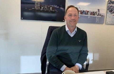 SKAL BYGGE FOR SEKS MILLIARDER: Yngve Åkvåg er daglig leder for det nye boligutbyggingsselskapet Heimgard Bolig AS. De skal bygge ut 1700 boliger, for rundt seks milliarder kroner fram til 2028. Og de håper det skal bli enda mer framover.