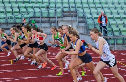 I form: Malin Søtorp Solberg viste at hun er klar for konkurranser under stevnet på Bislett.