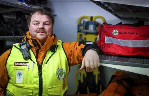 Vær forsiktig, velg tur etter evne, følg løypene og unngå bratt terreng sier beredskapsleder Kim Roger Lien. Han har vært beredskapsleder i fem år, og jobbet i ambulansen i 25 år. Nå studerer 46-åringen til å bli sykepleier.