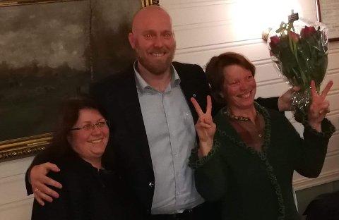 Trude Hustad, Odd-Amund Lundberg og Kjersti Røhnebæk