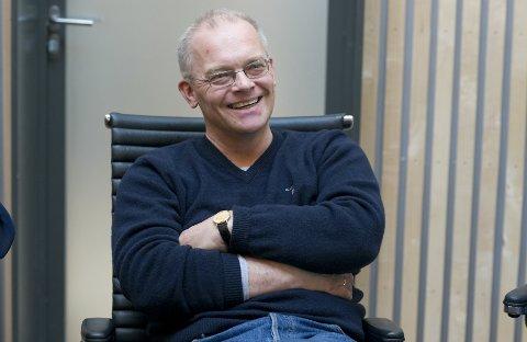 LEDER I STYRET: Ole Petter Løbben (61) sier at tilfeldigheter ville ha det til at han sitter som styreleder i HRA på åttende året. At det ikke er flere kvinner i samme rolle, tror han vil endre seg med målrettet arbeid.