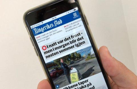 LOKALE NYHETER: I dette innlegget skriver Rolf Novsett om hva som må til for at Ringerikes Blad kan kalle seg «verdens viktigste avis».