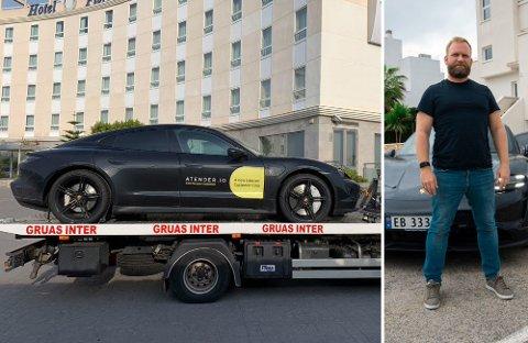 Etter drøyt 4.000 kilometer bak rattet i nye Porsche Taycan, gruer Erik Windahl Olsen seg til hjemreisen. Det er ikke på grunn av bilen, men utfordringene knyttet til lading.
