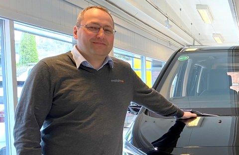 GA SEG I BILSELSKAPET: I april skrev Ringerikes Blad at Knut Ole Magistad  ga seg med bilsalg.