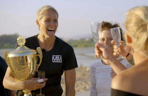 Historisk: I den niende sesongen ble Gro Hammerseng-Edin den første kvinnelige vinneren av «Mesternes mester». s