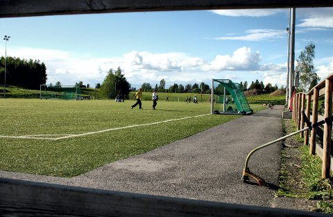 Blottingen mandag skjedde nær Bakkedalen idrettspark. Bildet er fra RBs arkiv og har ikke noe med hendelsen å gjøre.