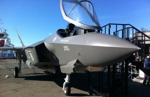 PÅ VEI: Norge skal kjøpe 52 jagerfly av typen F-35.