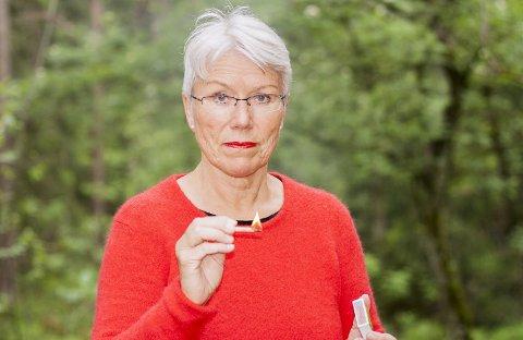 Skedsmosokningen Marit Heiberg trosset alle motstandere og latterliggjøringen knyttet til den nye røykeloven. Med et brennende engasjement for et røykfritt innemiljø, bidro Heiberg til å innføre røykeloven i Norge. Foto: Marte Nordahl