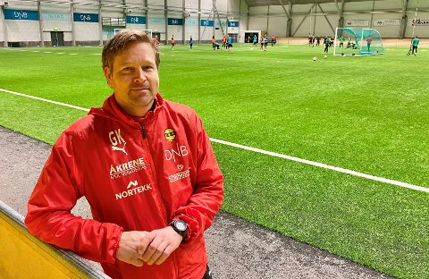 FORNØYD: LSKs fysiske trener Geir Kåsene liker spillernes utvikling på klubbens løpstest.